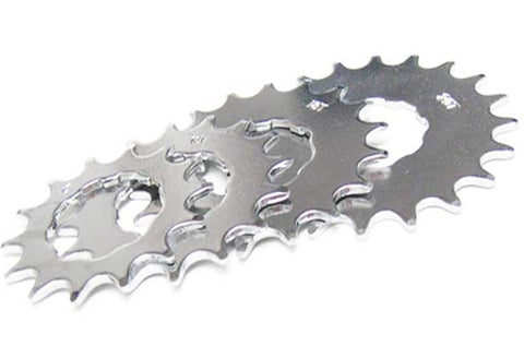 "Gusset Single Speed Cassette Sprocket Cog 12, 14, 16, 18, or 20 Teeth Steel Deep Tooth 1/2""x3/32"""