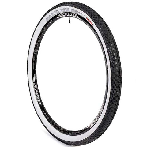 "Halo Twin Rail 29"" x 2.2"" Mountain Bike MTB Bicycle Tyre Black Whitewall 2.20"