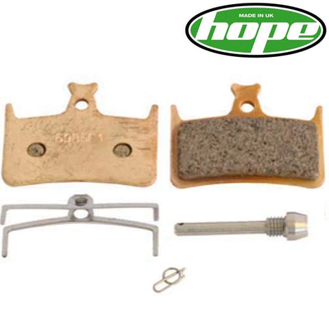 Hope Genuine Sintered Disc Brake Pads Mono M4, Tech Race & EVO E4