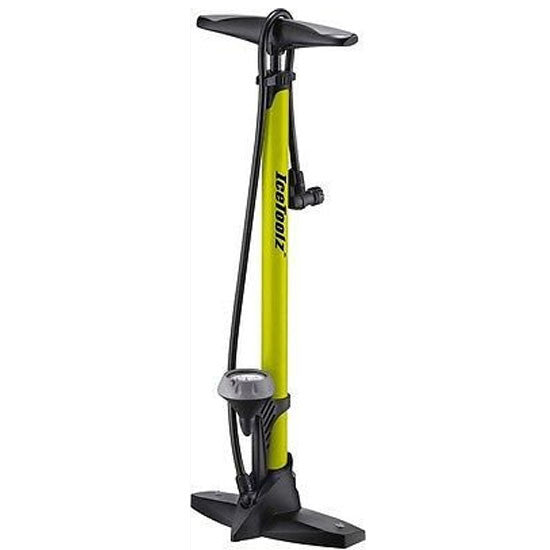 Icetoolz Floor Track Pump MTB Bicycle Bike Presta Schrader High Pressure 160psi
