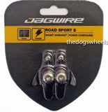 Jagwire Road Racing Bike Bicycle Cartridge Brake Pads Black