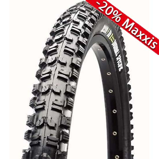 "Maxxis Minion DHR DH Downhill MTB Bike Tyre Rear 26"" x 2.35 Super Tacky 42a Dual 2 Ply ST"