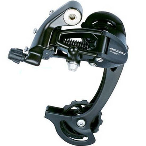 Microshift Shimano Compatible 8 9 speed Rear Mech Derailleur Long Cage Triple MTB Bicycle Bike