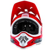 Oneal Backflip RL Bungarra Full Face DH Downhill MTB Bike Helmet Fullface Fidlock Red White Grey