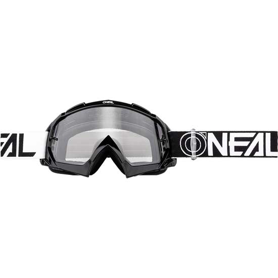 O'Neal B-10 Goggles Two Face Black Clear Lens Mountain Bike MTB MX Motox