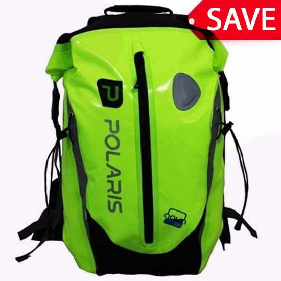 Polaris Aquanought High Visibility Waterproof Backpack Rucksack MTB Cycle 30L