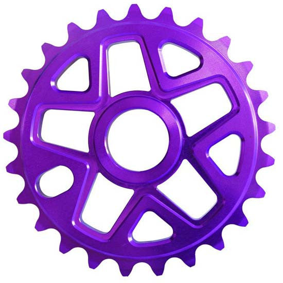 Savage BMX Bike Bicycle 28T Chainring Purple 28 Teeth Tooth Chain Ring