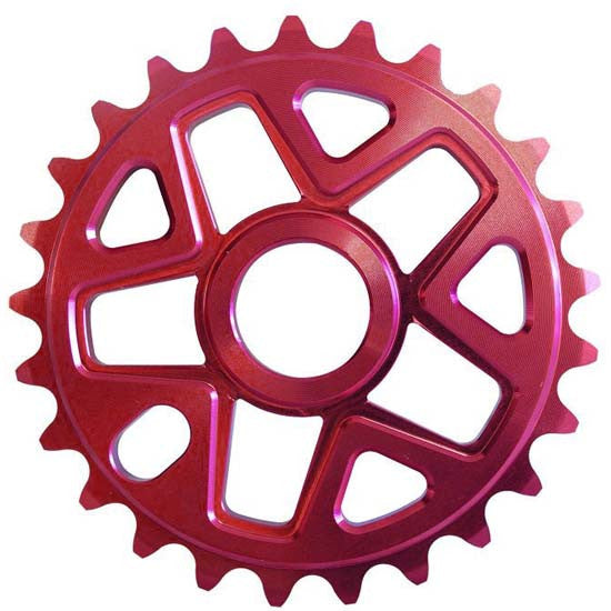 Savage BMX Bike Bicycle 28T Chainring Red 28 Teeth Tooth Chain Ring