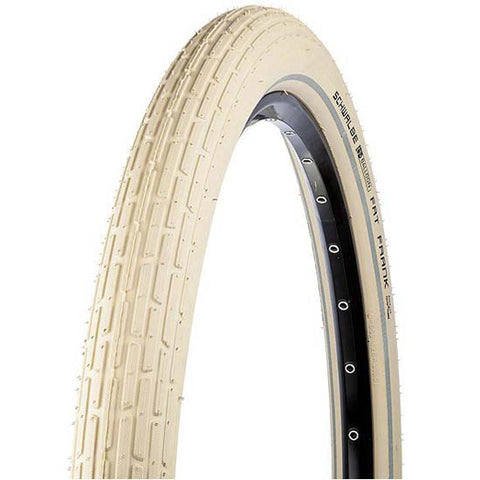 "Schwalbe Fat Frank 28"" / 29"" x 2.0 MTB Bicycle Bike Tyre Tyres Semi slick Street Cream"