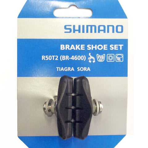 Shimano Tiagra / Sora Brake Pads R50T2 BR-4600 Road Racing Bike Bicycle caliper