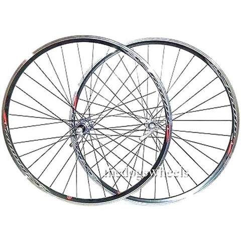 Shimano Tiagra 700c Road Racing Bike Wheels Wheelset Mach1 36H Double wall QR