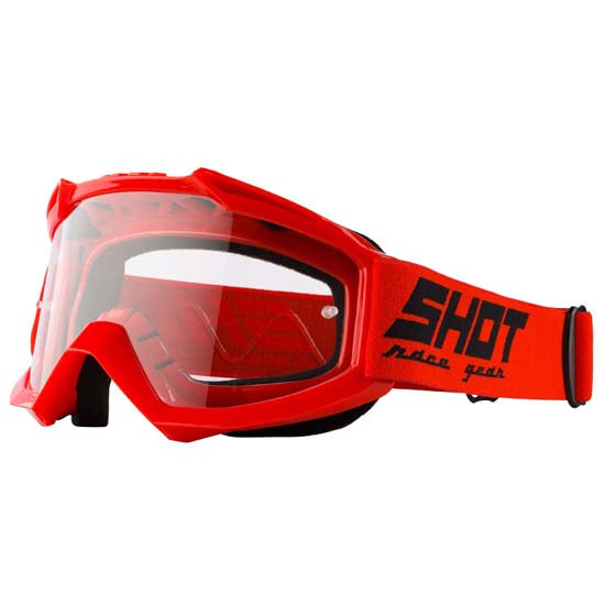 Shot Assault DH Downhill Mountain Bike MTB MX Motox Motocross Goggles Red