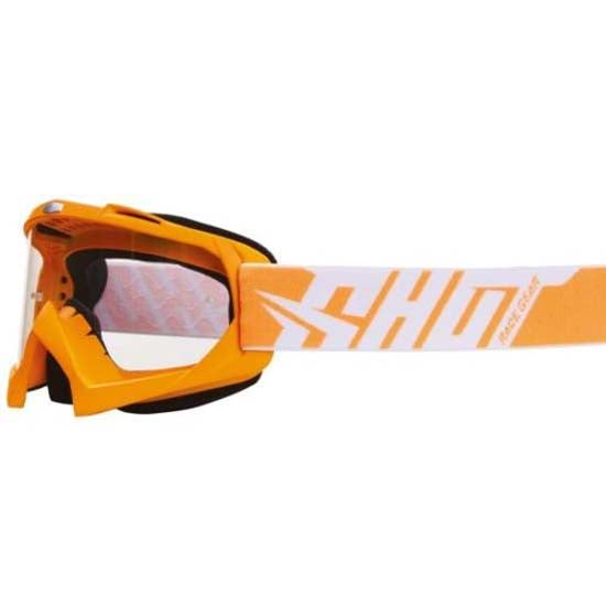 Shot Creed DH Downhill Mountain Bike MTB Motox Motocross Goggles Neon Orange