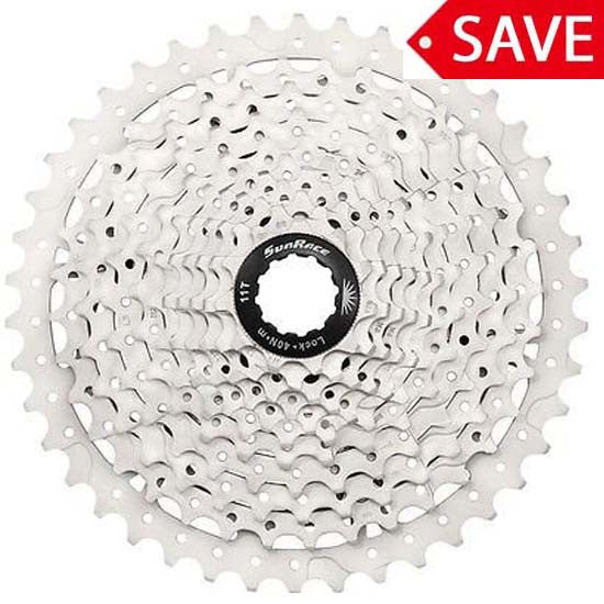 Sunrace MS3 10 speed 11/42T MTB Wide Range Cassette 11-42T Shimano / SRAM Compatible