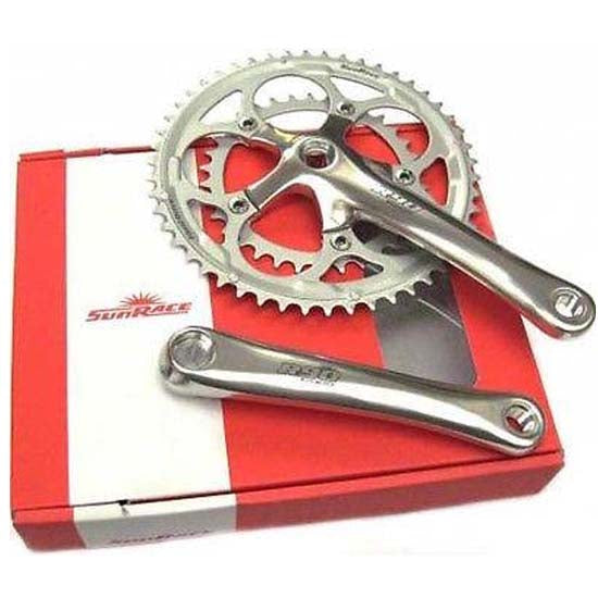 Sunrace Compact Chainset Crankset Road Racing Bike 34/50T 170mm 9 speed Bicycle