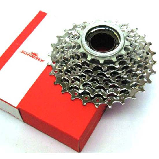 Sunrace 7 Speed Freewheel Sprockets 13/28T MTB Cycle Bicycle Bike 7sp Chrome