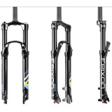 "Suntour Epixon 120mm Air Suspension Forks 26"" Mountain Bike MTB Lock Out  LO Black"