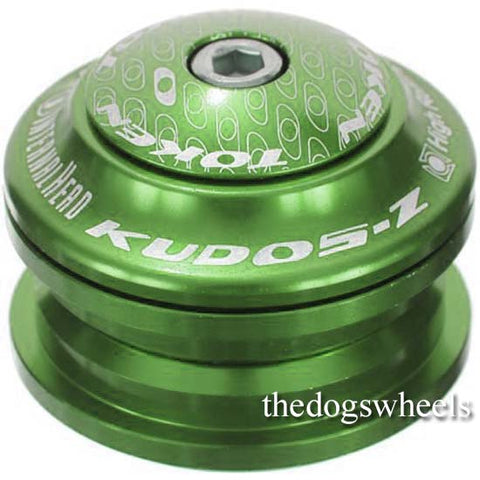 "Token 44mm Semi integrated Mountain Bike MTB Headset 1.1/8"" Sealed Bearing Green"