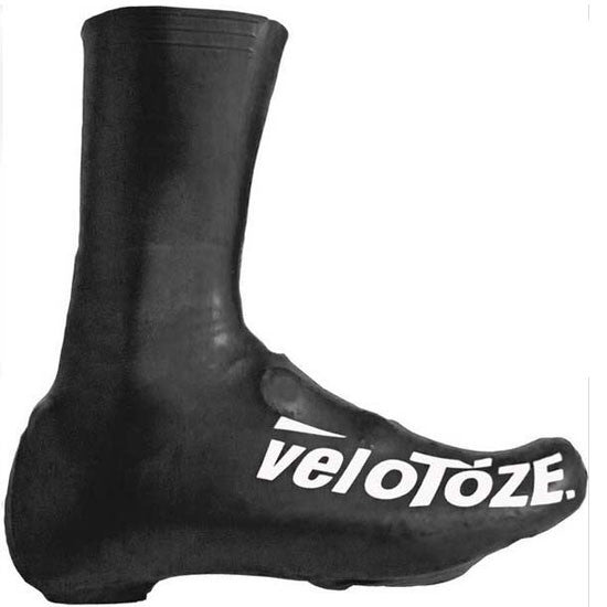 VeloToze Road Racing Bike Bicycle Cycling Tall Overshoes Waterproof Black