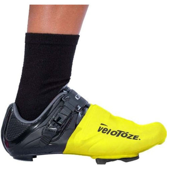 Velotoze Toe Cover Covers Overshoes Road Racing Bike Bicycle Cycling Cycle Yellow