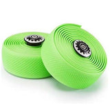 Widget Road Racing Bike Bicycle Silicone Drop Handlebar Grip Wrap Tape Green