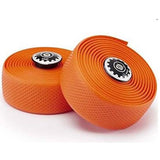 Widget Road Racing Bike Bicycle Silicone Drop Handlebar Grip Wrap Tape Orange