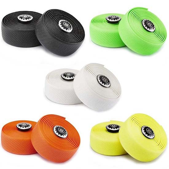 0009132b60e Widget Road Racing Bike Bicycle Silicone Drop Handlebar Grip Wrap Tape