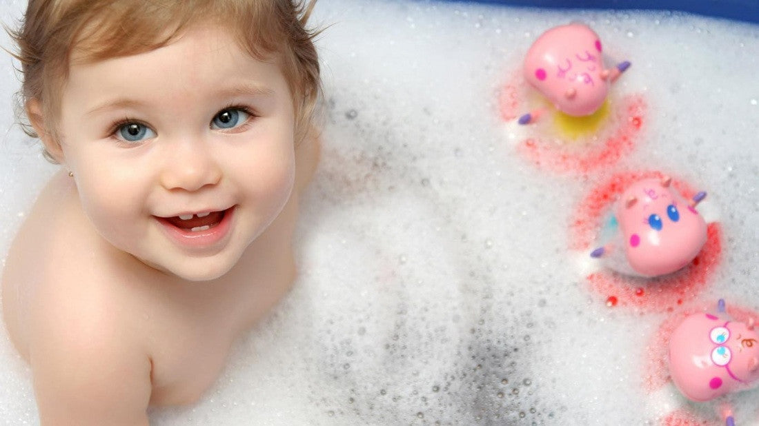 Different Ways To Make Bath time Fun!