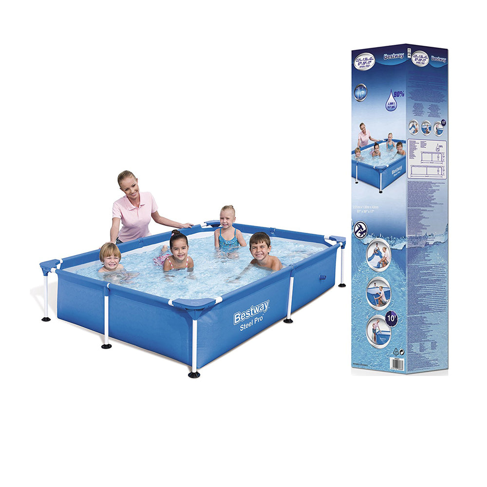 Splash Steel Frame Pool Pro 239 x 58 x 150 - Ourkidseg