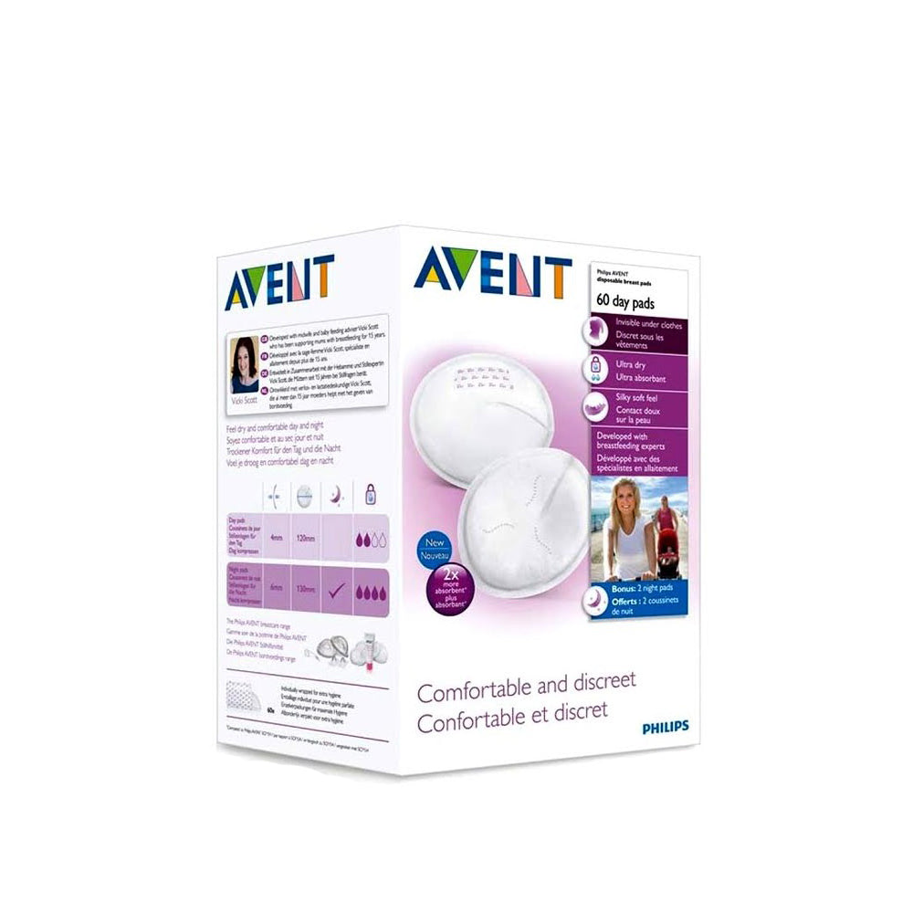 All Tagged Breast Feeding Accessories Ourkidseg Avent Breastpads Washable Disposable Pads 60 Pieces