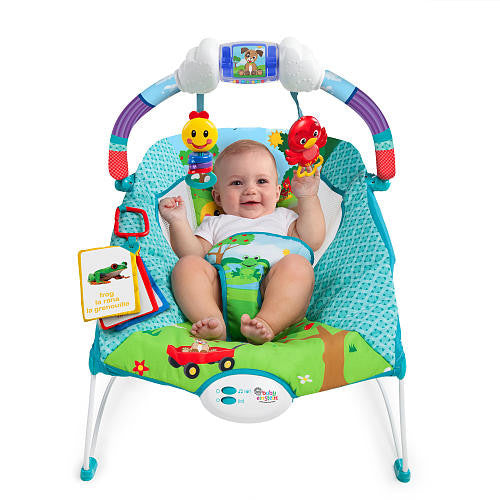 78a7e011726c Baby Einstein Caterpillar s Day At The Park Bouncer - Ourkidseg