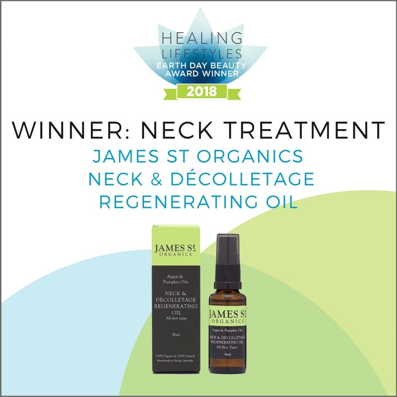 HEALING LIFESTYLES EARTH DAY BEAUTY AWARDS WINNER!