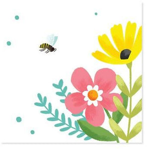 Bees and Flowers - 1218
