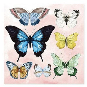 Watercolor Butterflies - 1302