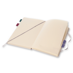 Moleskine Pro Notebook | Aster Grey | The Gifted Type