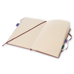 Moleskine Pro Notebook | Plum Purple | The Gifted Type