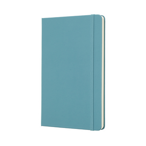 Moleskine Classic Large Hardcover Notebook | Reef Blue | The Gifted Type