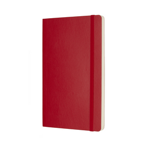 Moleskine Classic Large Softcover Notebook | Scarlet Red | The Gifted Type