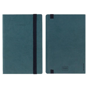 Legami Elastic Bound Notebook | Petrol | The Gifted Type
