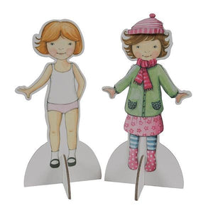 Paper Dolls | Activity Kit | The Gifted Type