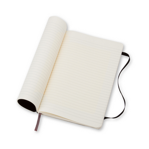 Moleskine Classic Large Softcover Notebook | Ruled | The Gifted Type