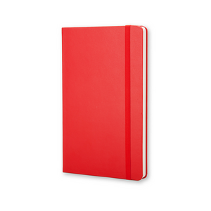Moleskine Classic Large Hardcover Notebook | Red | The Gifted Type