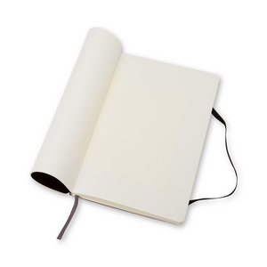 Moleskine Classic Large Softcover Notebook | Plain | The Gifted Type