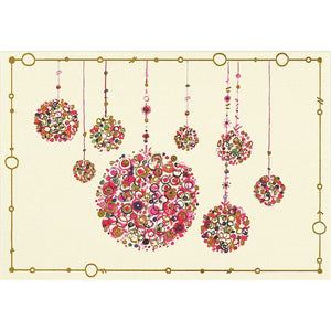 Multicolored Ornaments - 7130