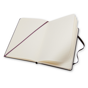 Moleskine Classic Large Hardcover Notebook | Ruled | The Gifted Type