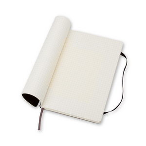 Moleskine Classic Large Softcover Notebook | Squared | The Gifted Type