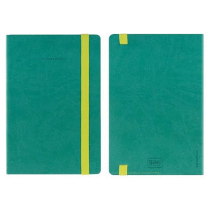 Legami Elastic Bound Notebook | Turquoise | The Gifted Type