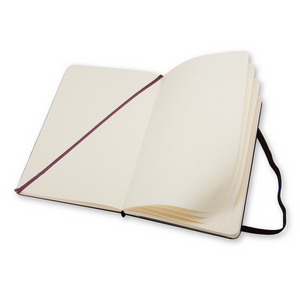 Moleskine Classic Large Hardcover Notebook | Plain | The Gifted Type