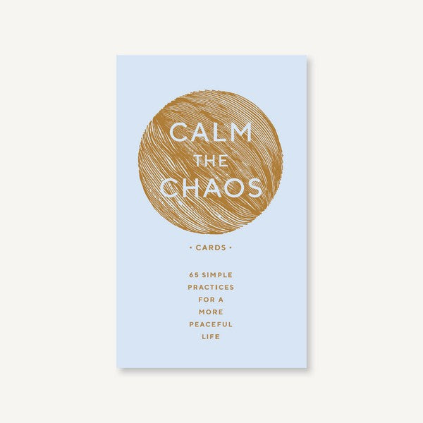 Calm the Chaos - Guided Flash Cards