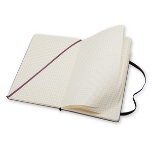 Moleskine Classic Large Hardcover Notebook | Squared | The Gifted Type